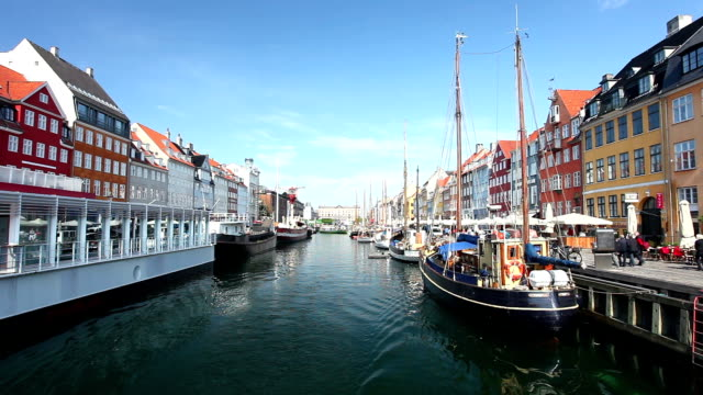 Nyhavn, Copenhagen, video