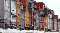 Nyhavn famous road in Copenhagen video