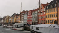 Nyhavn in Copenhagen/Denmark video