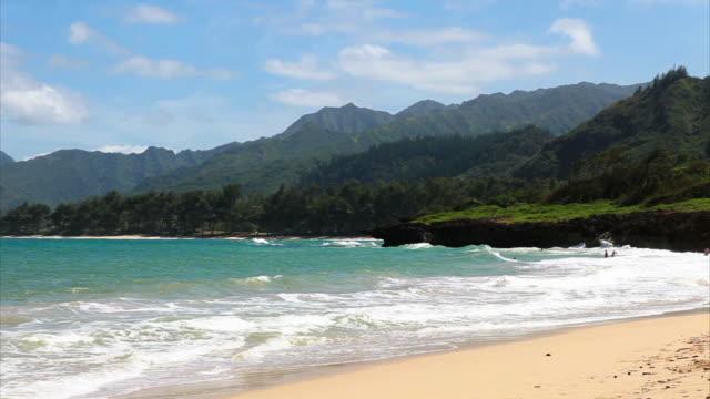 Oahu windward coast views HD video