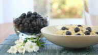 Oatmeal and Blueberry Breakfast video