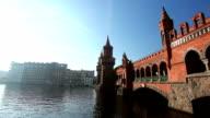 Oberbaumbrücke in Berlin, Germany video