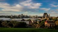 Observatory Hill Sunset Timelapse, Sydney (4K/UHD to HD) video