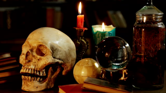 Occult Magic Desk (HD) video