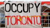 Occupy Toronto. video