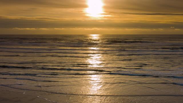 Ocean Beach at dusk video