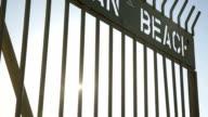 Ocean Beach Gate video