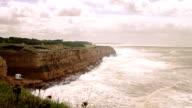 Ocean Cliff HD video