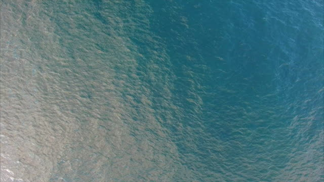 Ocean ripples from above video