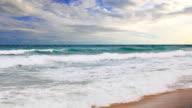 Ocean scenic video