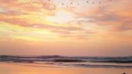 Ocean Sky in the north of Peru video