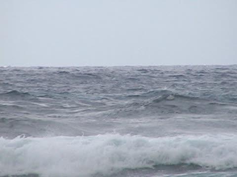 Ocean spray video