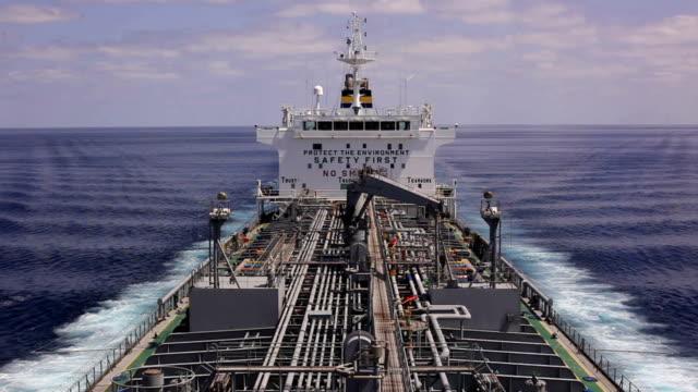 Ocean tanker video
