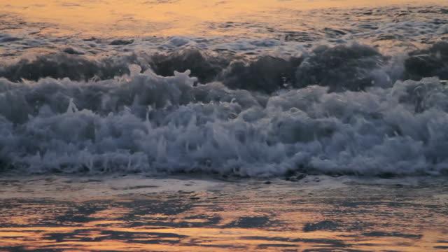 Ocean Tide Close up video