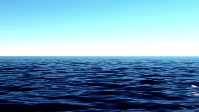 Ocean timelapse video