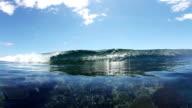 Ocean Wave Crashing video