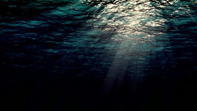 Ocean waves from underwater video