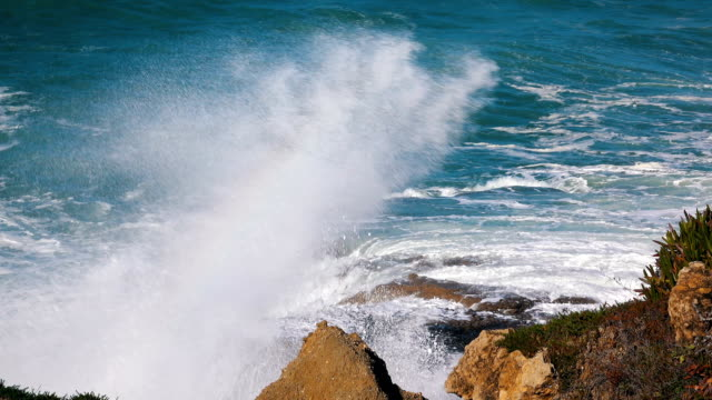 Ocean Waves Incoming on Shore video