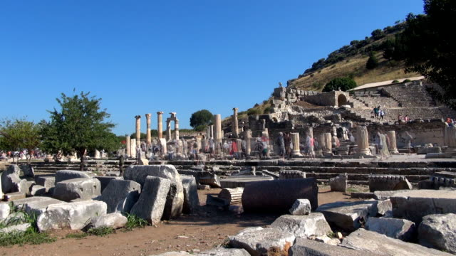Odeion - Ephesus, Turkey video