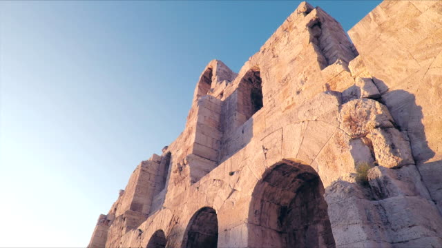 Odeon of Herodes Atticus theatre in Athens video