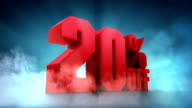 10%, 20%, 30%, 40%, 50% Off video