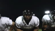 Offensive line sets up for play video
