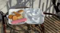 Offering food to the Budha video