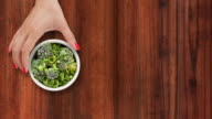 Offering frozen broccoli video