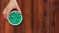 Offering green pills video