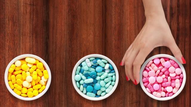 Offering pills video