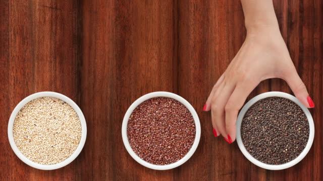 Offering quinoa video