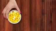 Offering yellow pills video
