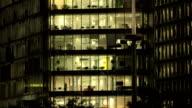 Office Block at Night-55 video