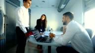 Office brainstorming. video
