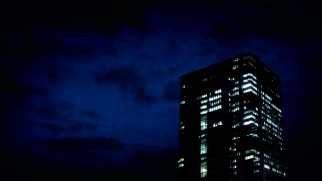 Office Building At Night video