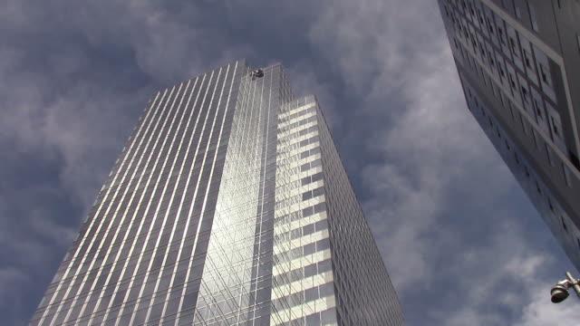 Office Buildings downtown Phoenix, AZ video