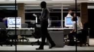 Office business evening video