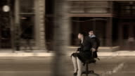 Office Chair Street Race video