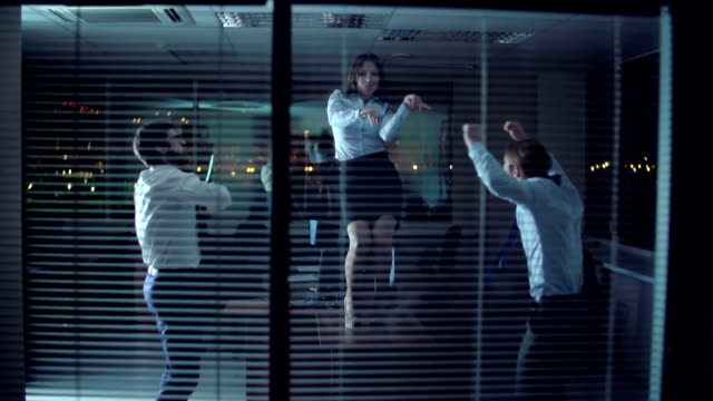Office Dance Party video