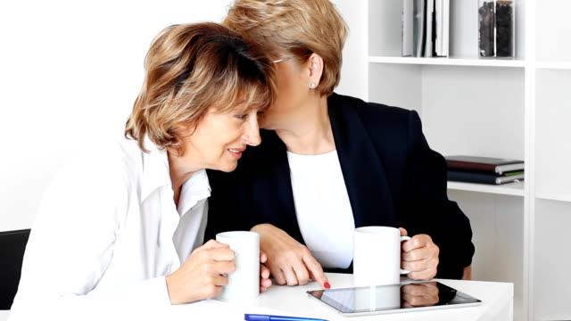 Office gossip video