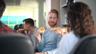 Office lunch. video