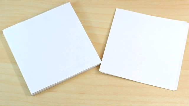 Office Paper notepad template video