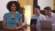 Office portrait video