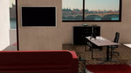 Office space with a view to the iconic London video