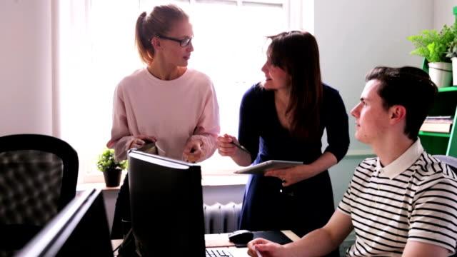 Office Teamwork video