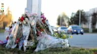 RCMP Officer Roadside Memorial video