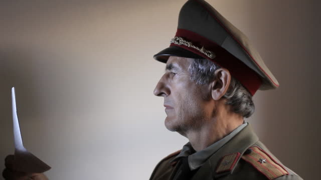 WWII  Officer - Russian army video