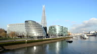 Offices on the Thames. video