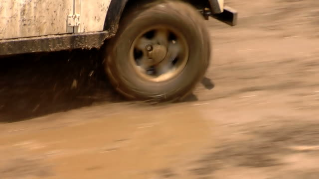 Offroad 4x4 Goes on Mud video