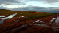 off-road journey across the steppe video